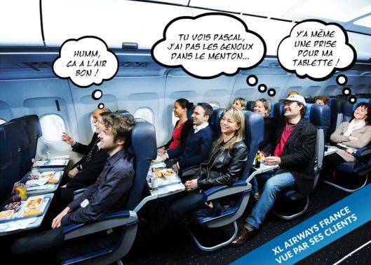 XL Airways vue par ses clients...