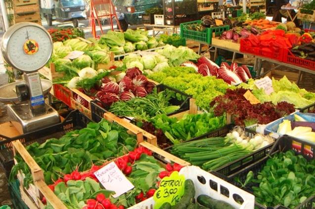 Palette de légumes - Campo di Fiori
