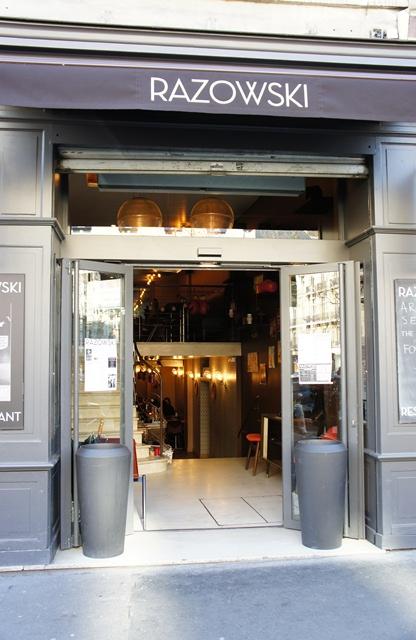 Restaurant Rasowski - Boulevard Saint Germain