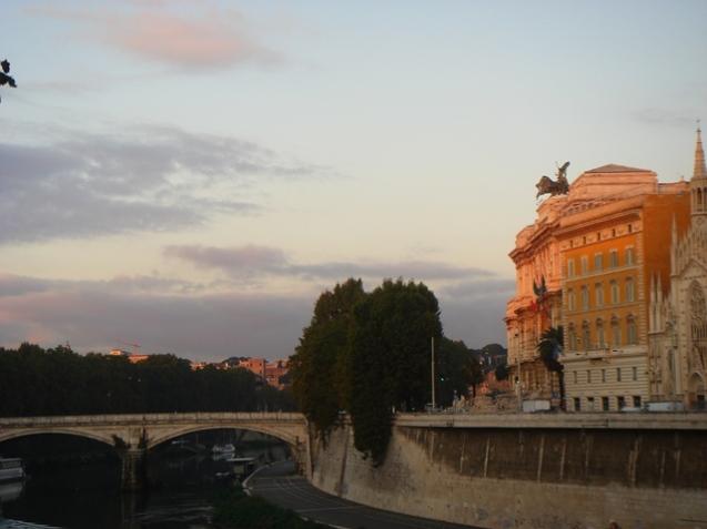 Réveil sur le Castel San Angelo