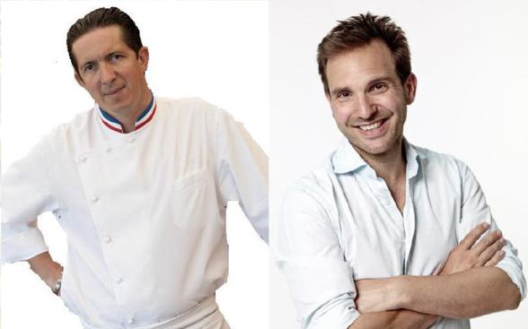Christophe Bacquié et Christophe Michalak pour un dîner à 4 mains