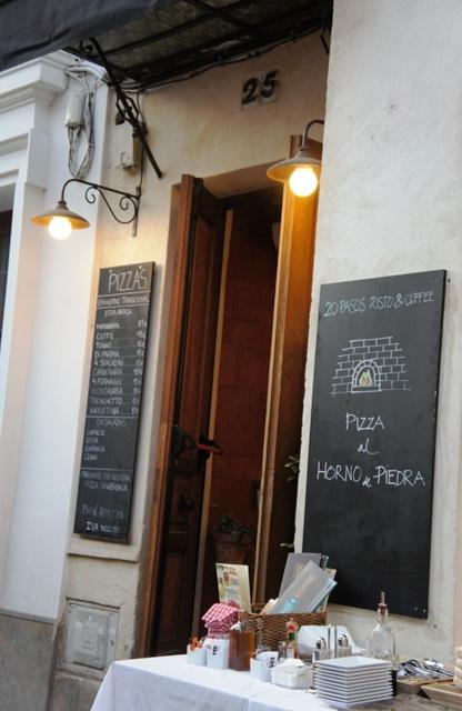 Pizzeria du EME Hôtel
