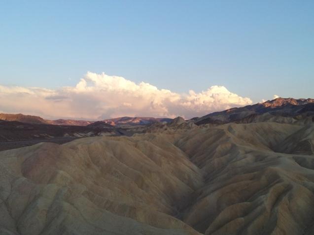 Death Valley - Coucher du soleil