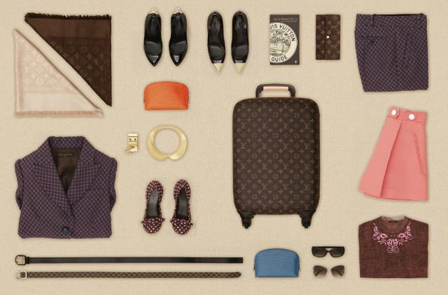 l art de faire sa valise selon louis vuitton ailleurs is. Black Bedroom Furniture Sets. Home Design Ideas