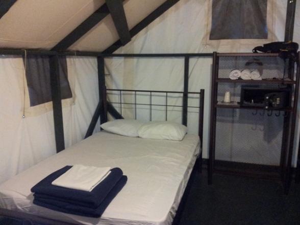 Notre tente au Curry Village