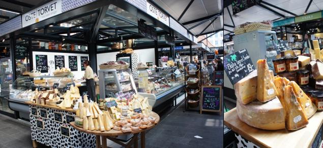 Le fromager : Oste Torvet