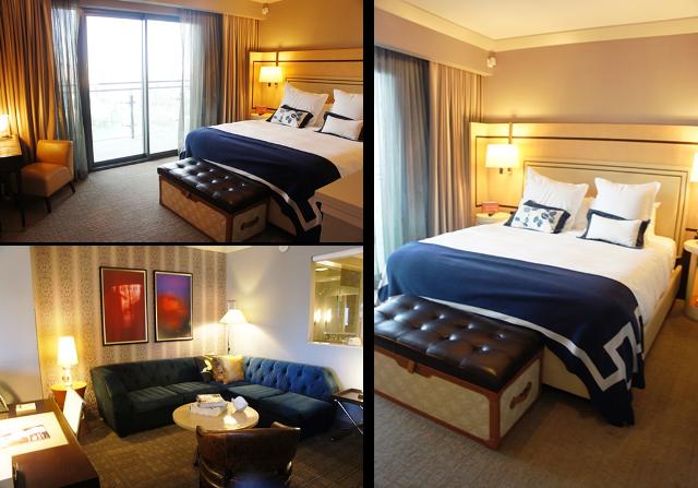 Chambre avec balcon et salon - Cosmopolitan Hotel