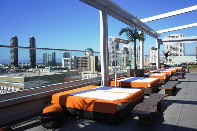 Rooftop hôtel Andaz San Diego