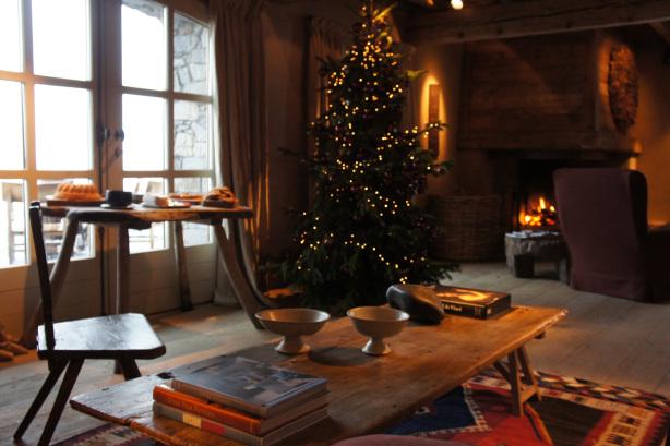 Le Chalet Zannier au moment de Noël