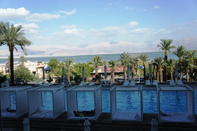 La vue depuis l'hôtel