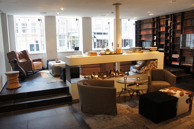 Lobby Sir Albert Hotel - Amsterdam