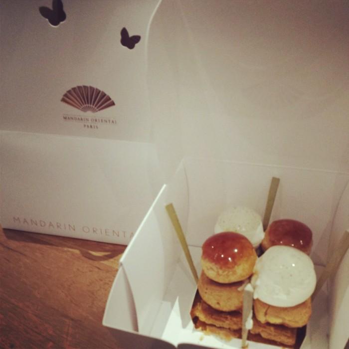 Saint-Honoré  - Cake Shop du Mandarin Oriental