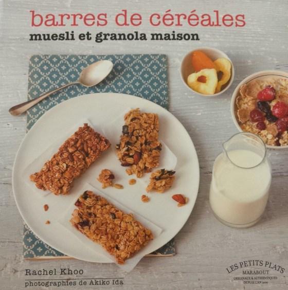 Barres de céréales - muesli et granola maison - Edition Les Petits Plas- Marabout