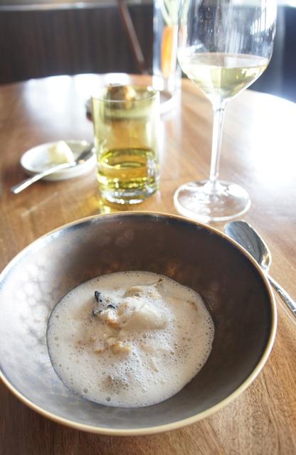 Huître Papin-Poget - Topinambour - Foie Gras
