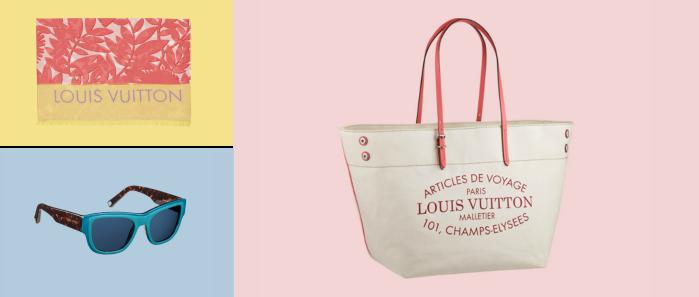 Louis Vuitton, collection été 2014