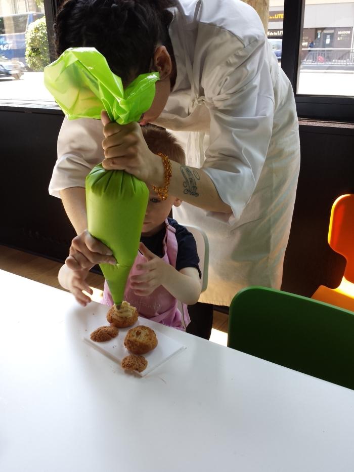 L'Atelier garnissage de choux