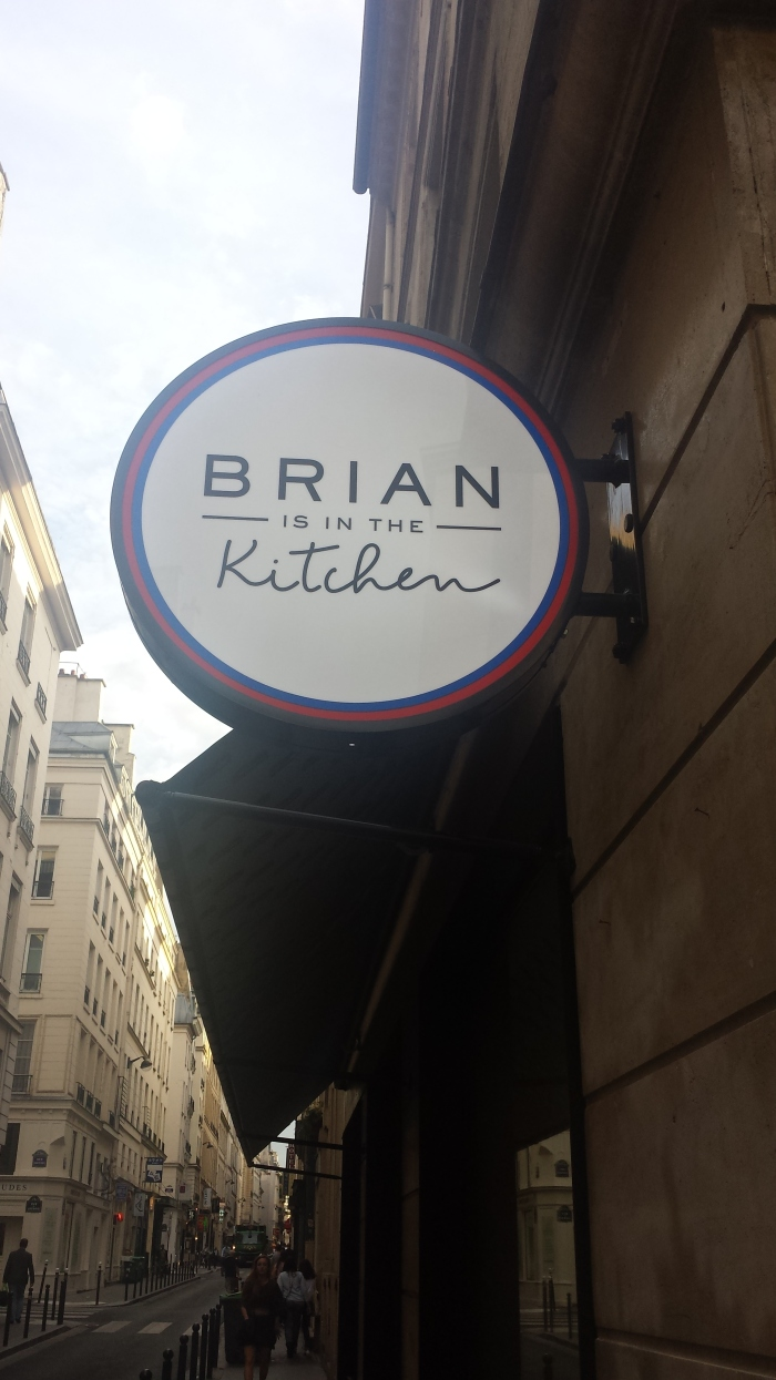 Brian is in the Kitchen