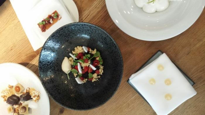 Les desserts de chez Catit, le restaurant gastronomique
