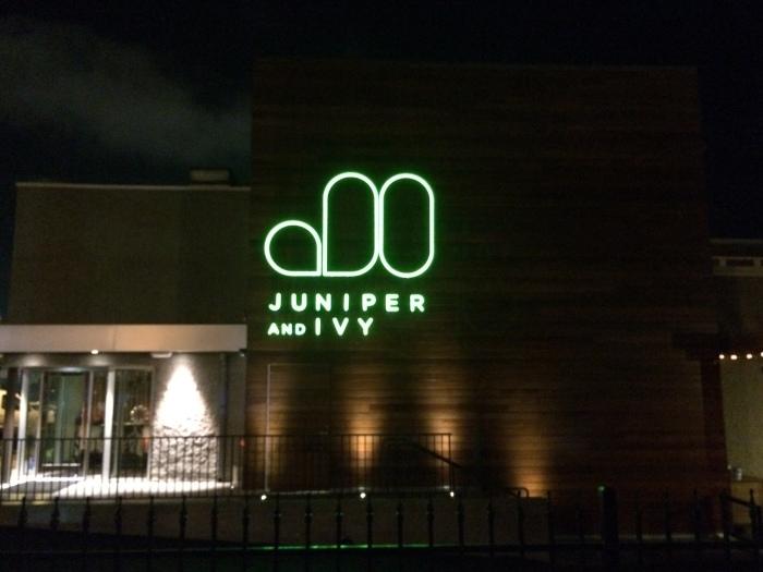 Juniper &Ivy resturant