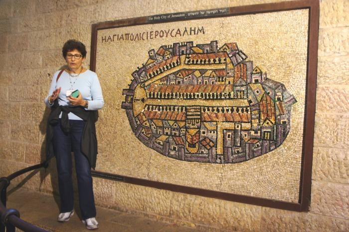 Dafna, notre guide en Israël