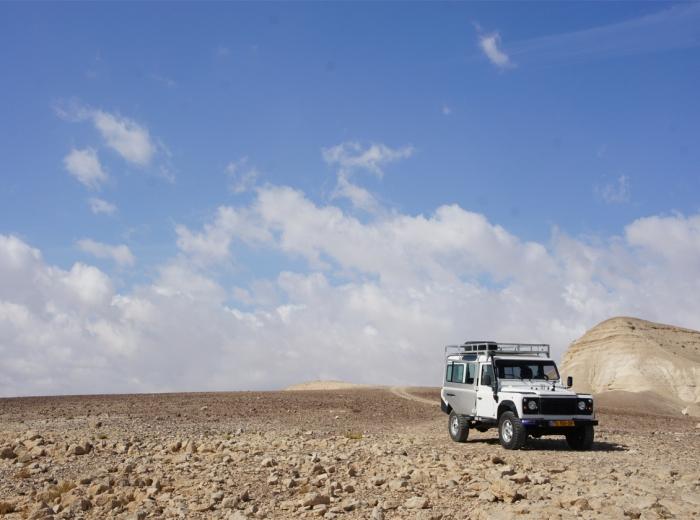 2h en Jeep dans le désert !
