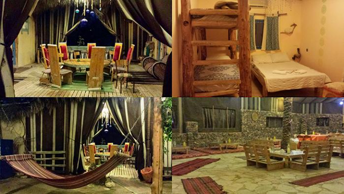 Kfar Hanokdim, notre campement de style bédouin