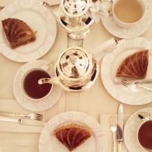 Tea time au Plaza Athénée autour de la galette