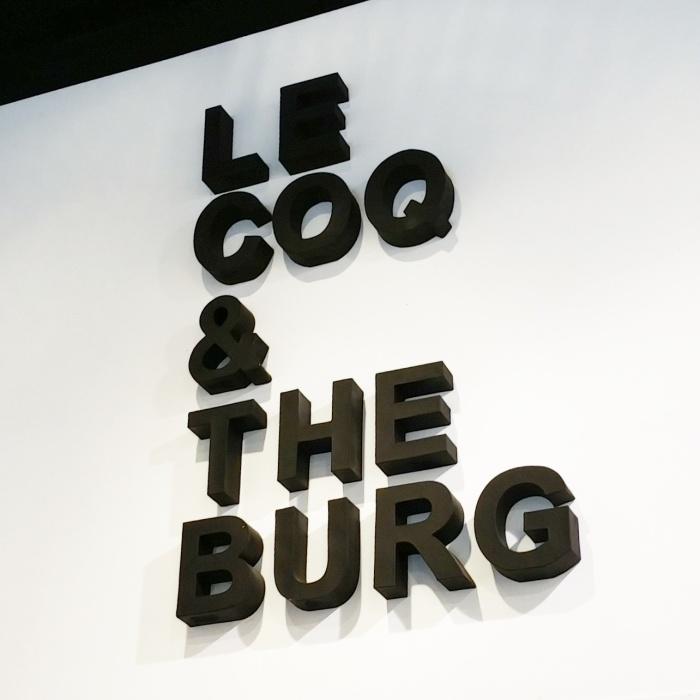 Pause déjeuner chez Le Coq & The Burg