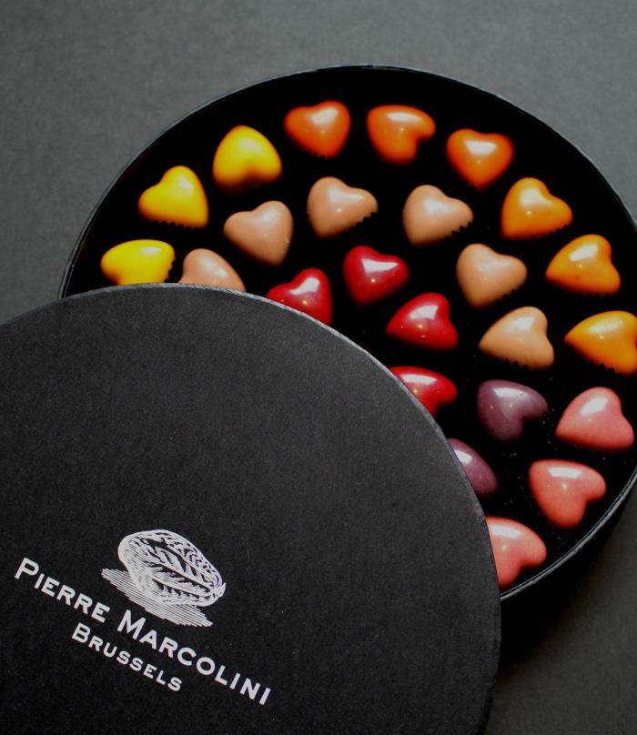 Boite de 36 cœurs Pierre Marcolini - 38 €