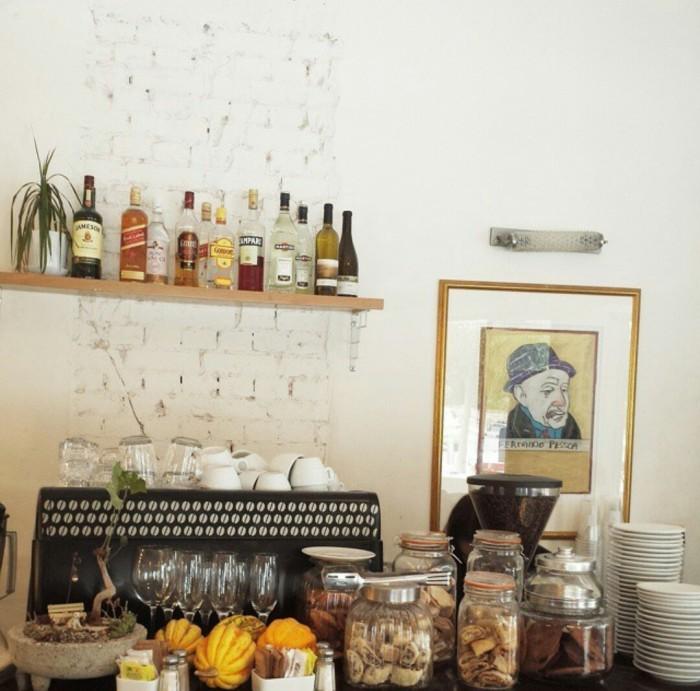 Coffee Shop du petit déjeuner