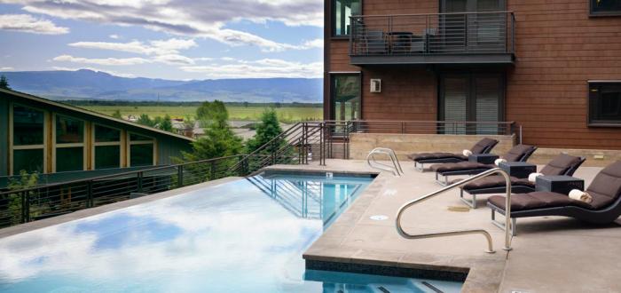 La piscine de l'hôtel Crédit photo : Hôtel Terra