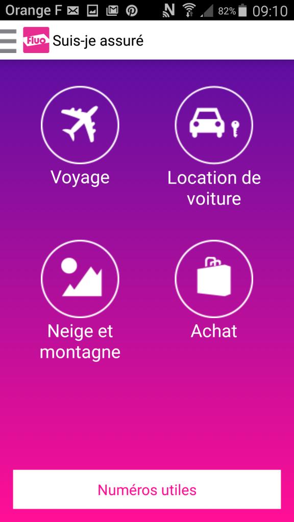 L'application Fluo : ultra pratique pour voyager l'esprit tranquillle !