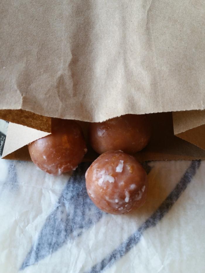 Que devient le trou du donuts...? Des minis balls délicieuses et fondantes !