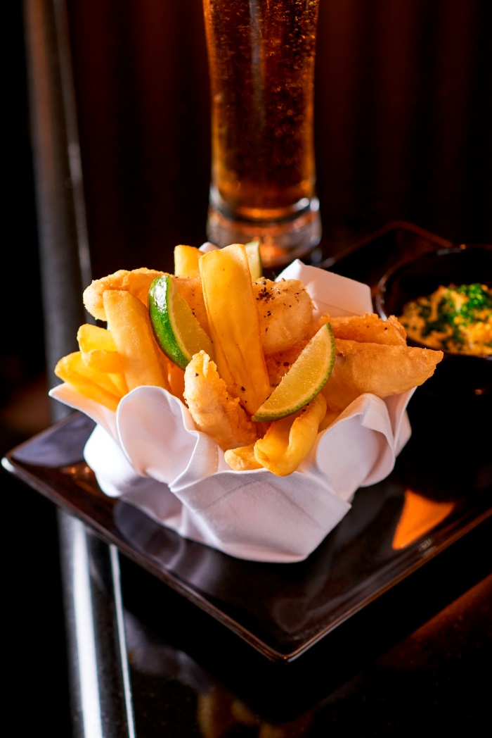 Fish & Chips + bière La Parisienne : 32 €