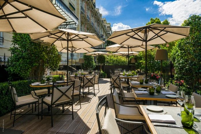 La 8 Iéna - Shangri-La Hotel, Paris - ©Roméo Balancourt